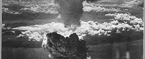 Fat Man Atomic Bomb Explodes Over Nagasaki