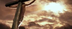 Jesus-on-cross-light-of-heaven-shines