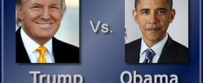Trump-v-Obama