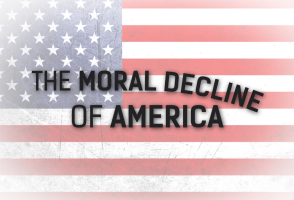 moral decline in america Is america in moral decline morality is a very broad and complicated topic due to the fact that it is based primarily on individual opinions moral values constantly change with the generations and it would be impossible to answer the question where every individual would agree however, most.