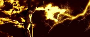 Crucifixion with Lightning