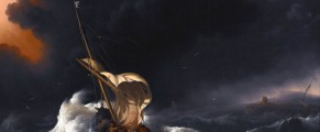Christ in the Storm on the Sea of GalileeLudolf Backhuysen, 1695