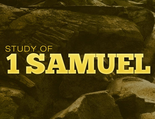 It's Go Time — Video Sermon (continuing Study in 1 Samuel): Preacher, Alistair Begg