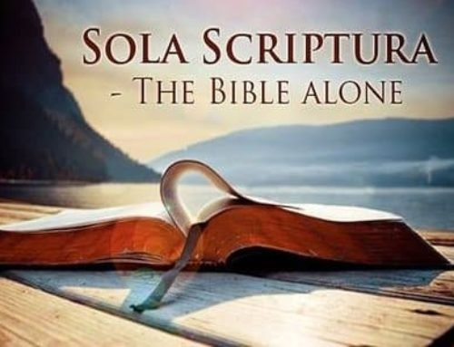 """This decade showed us that if we lose the Sola Scriptura, we lose everything"""