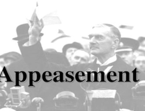 Appeasement Leads to Encouragement