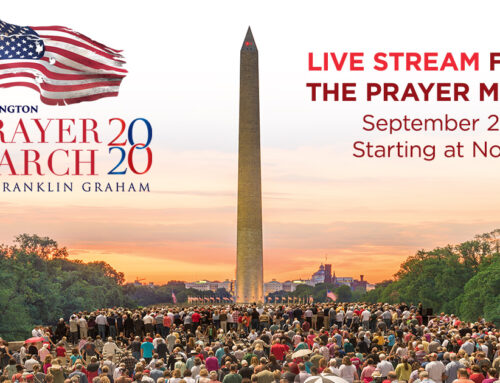 WATCH THE REPLAY (With Updated Text In the Post): 2020 Prayer March From Washington, D.C., Held Saturday, September 26th